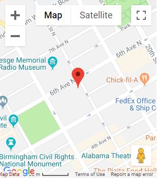 Bradley Arant Law Firm Map